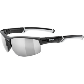 UVEX Sportstyle 226 Glasses, black white/ltm. silver